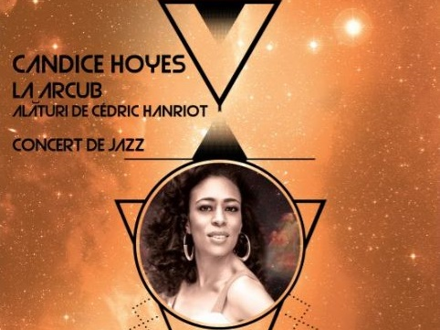 Candice Hoyes concerteaza la Arcub pe 11 iunie
