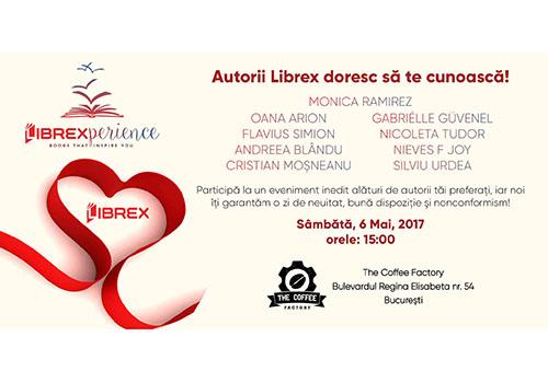 Autorii Editurii Librex vor sa-si cunoasca cititorii