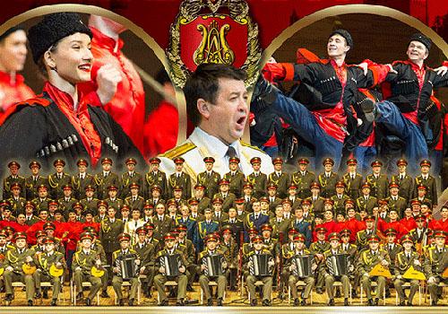 Corul Armatei Rosii canta la toamna in Bucuresti