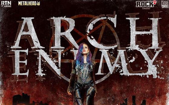 Bilete reduse la Arch Enemy si Jinjer pana pe 15 iulie