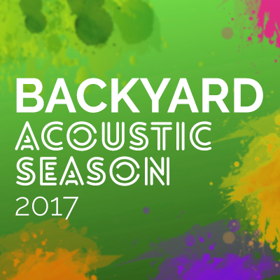 Un nou sezon Backyard Acoustic incepe in 29 iunie