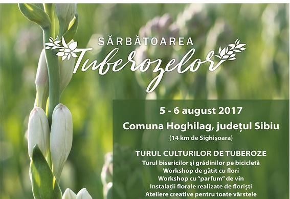 Weekend cultural la Sarbatoarea Tuberozelor