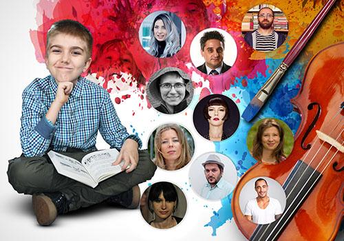 10 scriitori contemporani citesc pentru copii