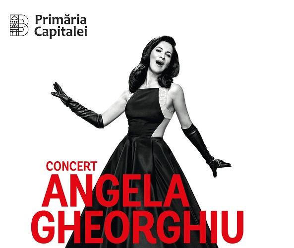 Angela Gheorghiu concerteaza la Zilele Bucurestiului