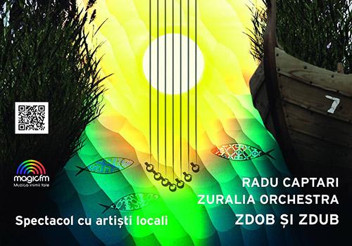 Zdob si Zdub canta la Serbarea borsului pescaresc