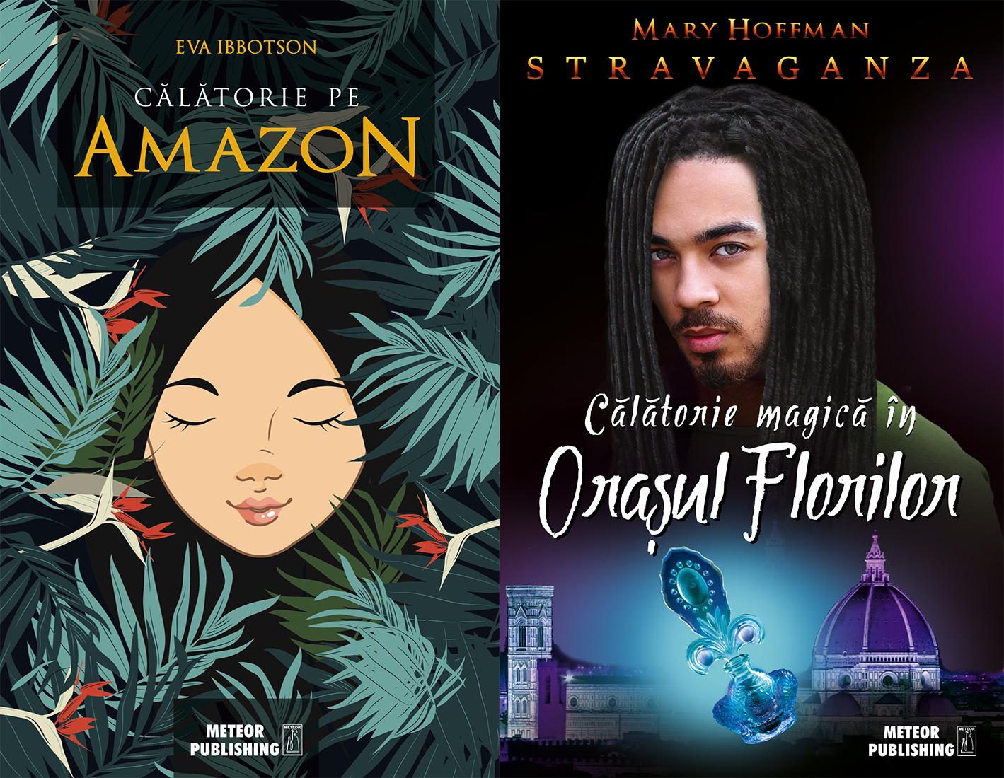 """Noutati Meteor Press: """"Calatorie pe Amazon"""" si """"Calatorie magica in Orasul Florilor"""""""
