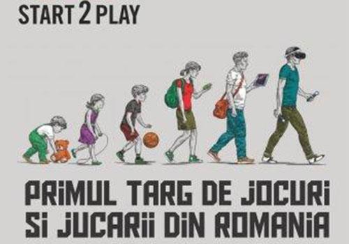 Prima editie Start 2 Play are loc pe 25-26 noiembrie