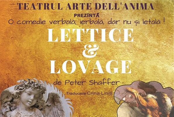 """""""Lettice & Lovage"""": o comedie verbala, ierbala, nu si letala"""