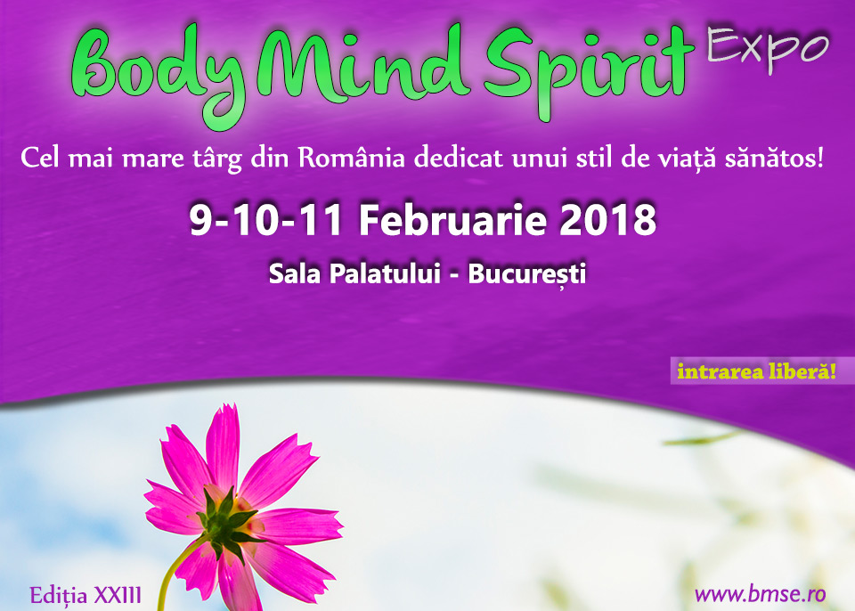 9-11 februarie: Body Mind Spirit EXPO