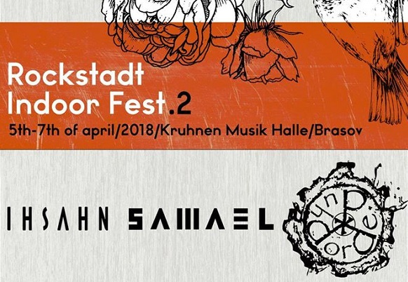 Ihsahn, Samael si Dordeduh canta la a doua editie Rockstadt Indoor Fest