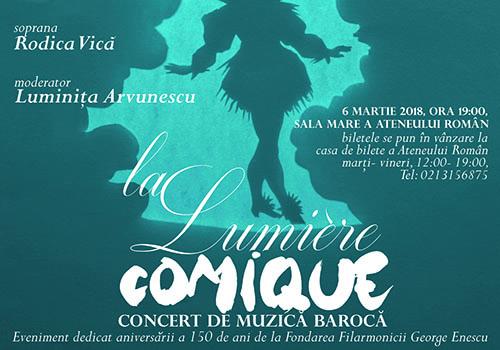 LA LUMIÈRE COMIQUE – concert de muzica baroca
