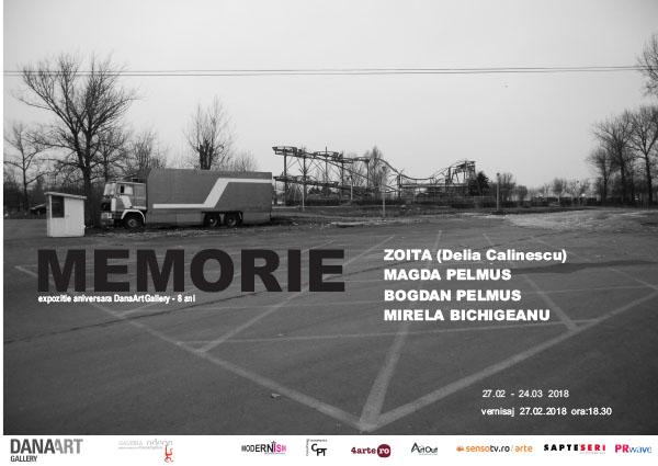 Expozitia aniversara DanaArtGallery se deschide pe 27 februarie