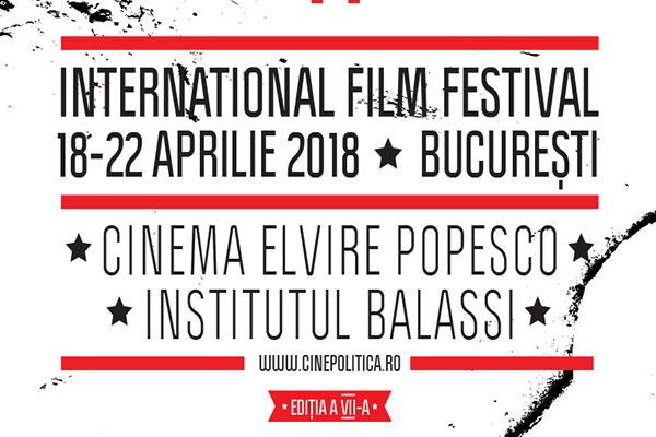 Cinepolitica revine cu a saptea editie pe 18 aprilie