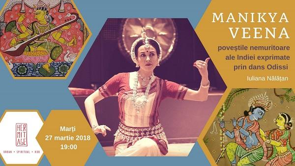Manikya Veena – Spectacol de Dans Odissi