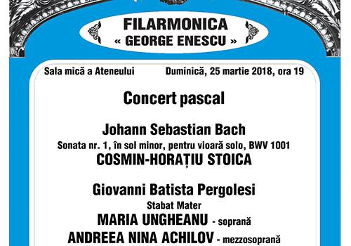 "Concert la Ateneu: ""Stabat Mater"""