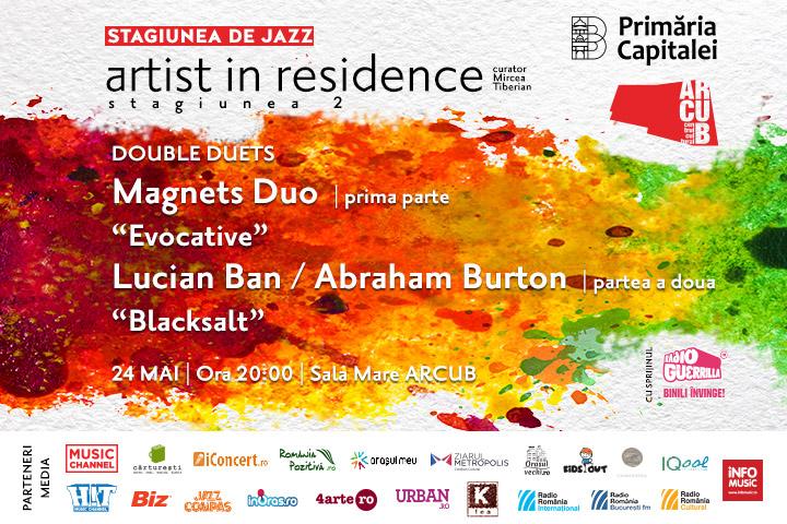 24 mai: Dublu concert de jazz la Arcub