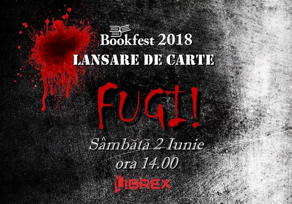 "Oana Arion lanseaza romanul ""Fugi!"" la Bookfest 2018"