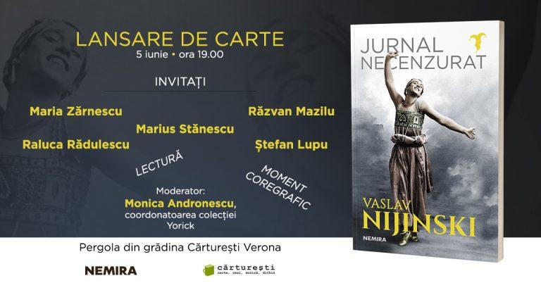 """Nemira lanseaza """"Jurnalul necenzurat"""" al lui Vaslav Nijinski"""