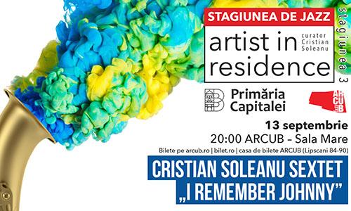 "Artist in Residence revine cu tema ""Jazzul – O istorie vie"""