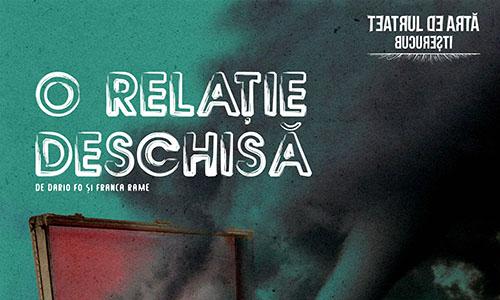 """""""O relație deschisă"""" vine în avanpremieră la Teatrul de Artă București"""