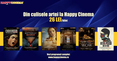 Hai la maraton cultural la Happy Cinema!
