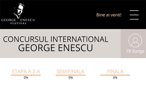 5 septembrie la Concursul Enescu: recital și lansare de aplicație cu premii