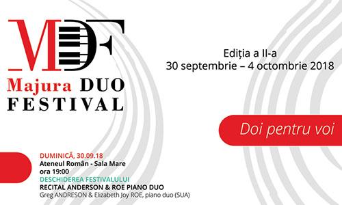 MAJURA DUO FESTIVAL revine cu ediția a doua pe 30 septembrie