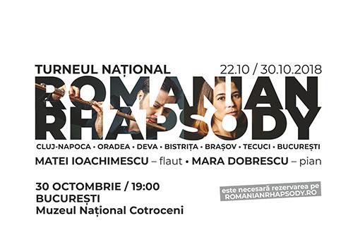 ROMANIAN RHAPSODY, turneu de flaut și pian