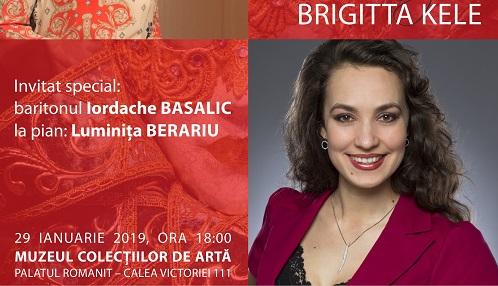 Serată muzicală cu soprana Brigitta KELE