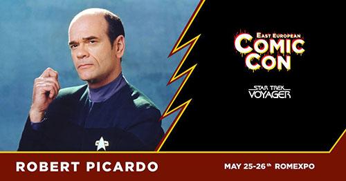 Robert Picardo vine la East European Comic Con