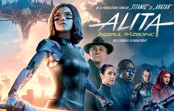 """""""Alita"""", de la înger la războinic"""