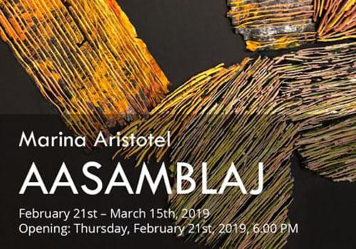 Expoziție la Estopia: AASAMBLAJ de Marina Aristotel