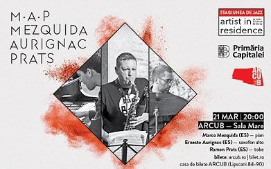 Mezquida-Aurignac-Prats cântă la Artist in Residence