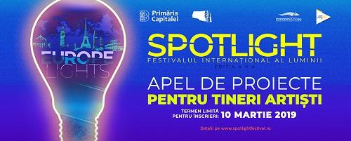 Tinerii artiști sunt invitați la un concurs pentru participarea la Festivalul Spotlight