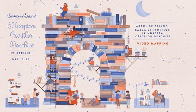 Ziua Internațională a Cărții, sărbătorită la Arcul de Triumf