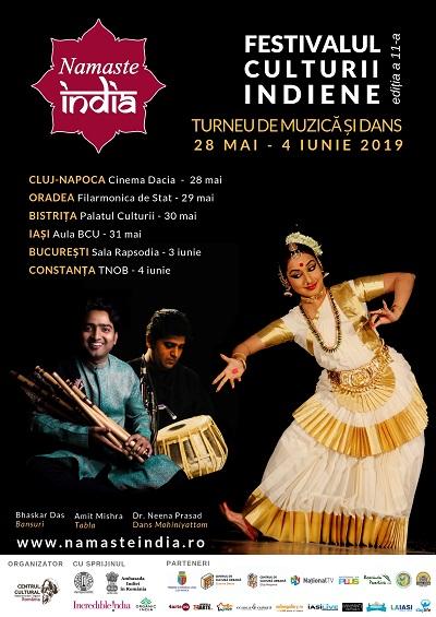 Festivalul Namaste India călătorește în șase orașe