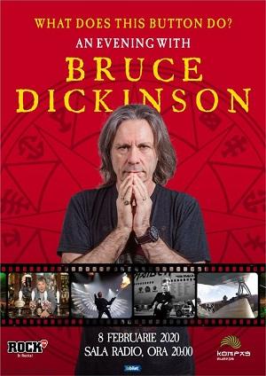 Cine vrea să petreacă o seară cu Bruce Dickinson?
