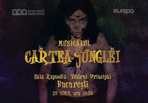 """Musical pentru toată familia: """"Cartea Junglei"""""""