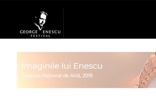"""Începe concursul național de artă """"Imaginile lui Enescu"""""""