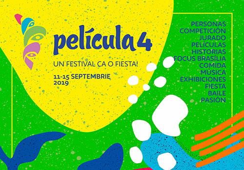 """Festivalul de Film """"Película"""" începe în 11 septembrie"""