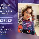 """Irina Reisler lansează volumul """"De la 100 la 50 de kilograme: Vreau, pot, fac, pentru că merit!"""""""