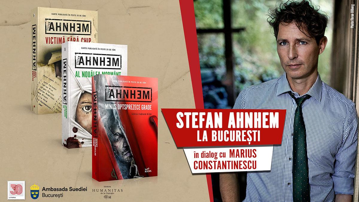 Stefan Ahnhem se întâlnește cu cititorii români pe 6 octombrie