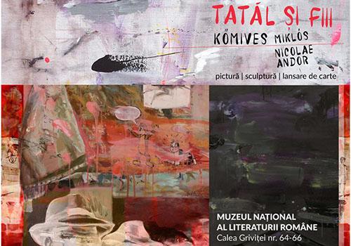 """Expoziție la MNLR: """"Tatăl și fiii"""" de Andor Kőmives"""
