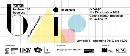 """Expoziția """"Bauhaus Imaginista"""" se deschide pe 11 octombrie"""