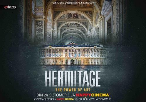 """""""Hermitage: The Power of Art"""" rulează în premieră la Happy Cinema București"""