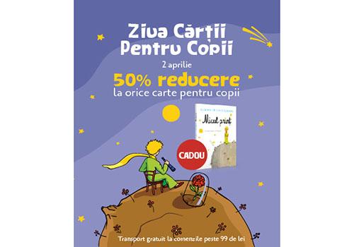 Ziua Internațională a Cărții pentru Copii: ce surpriză a pregătit Editura Litera