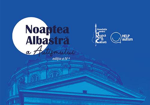 Noaptea Albastră a Autismului 2020: pe 2 aprilie, România se iluminează în albastru