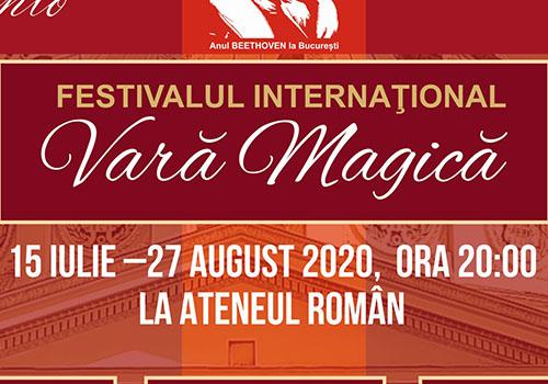 """Muzică clasică: festivalul """"Vara Magică"""" începe în 15 iulie"""
