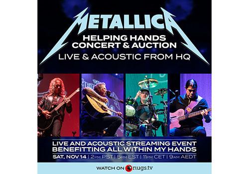 Concert Metallica online, cu bilete de la 14.99 $, în această seară