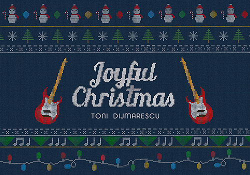 """Toni Dijmărescu a lansat un clip animat pentru piesa """"Joyful Christmas"""""""